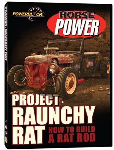HorsePower Project: Raunchy Rat (DVD)