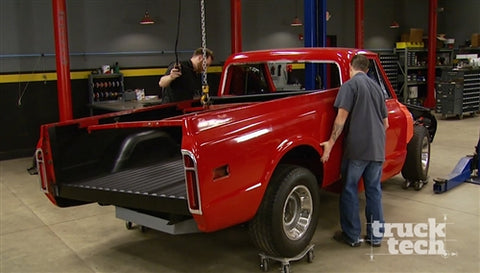Truck Tech DVD (2016) Episode 18 - 71 C10 Interior & Bed Assembly