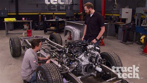 Truck Tech DVD (2016) Episode 1 - Project Basket Case Fire Up & NighTrain Plumbing