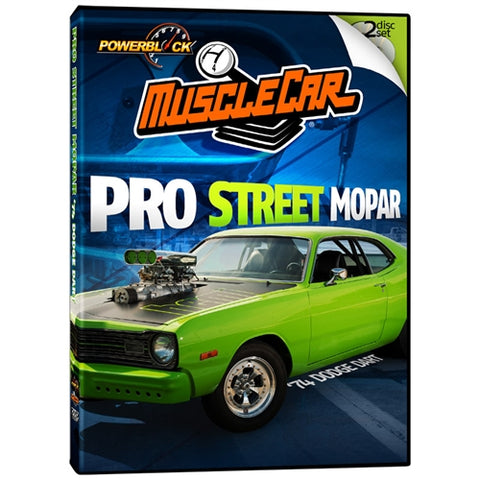 MuscleCar Project: '74 Dodge Dart Pro Street Mopar  (2-Disc Set)