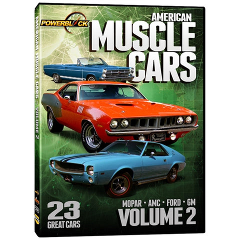 American Muscle Cars - Volume 2 (DVD)