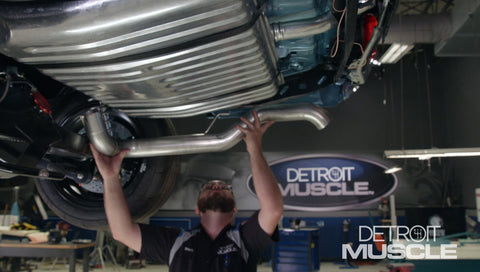 Detroit Muscle DVD (2017) Episode 21 - Barn Find Chevelle- Fuel System and Exhaust