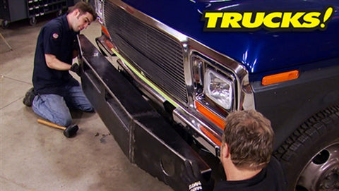 Trucks! DVD (2013) Episode 16 - Super Dually Part 11 - New Interior & Custom Bumpers!