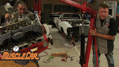 "MuscleCar DVD (2008) Episode 20 - ""Red Sled gets a 409"""