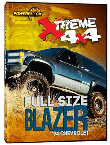 Xtreme 4x4 Project: Full Size Blazer (DVD)