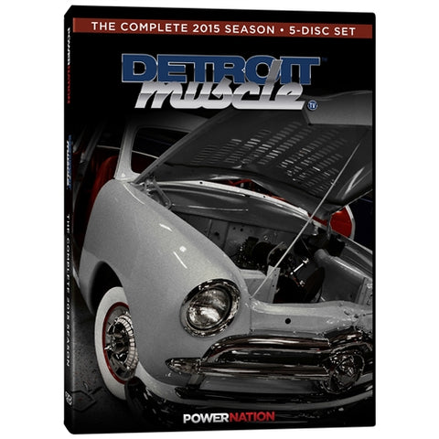 Detroit Muscle (2015) Complete Season 5-Disc Set