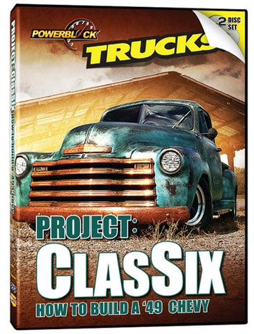 Trucks! Project: ClasSix '49 Chevy (2-Disc Set)