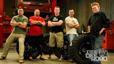 Xtreme Off-Road DVD (2014) Episode 21 - Veteran XJ: Size Matters