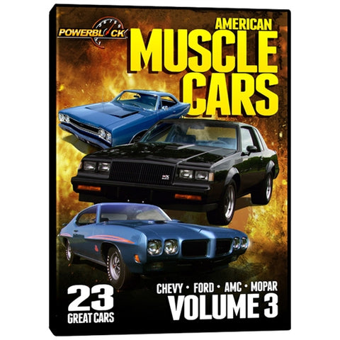American Muscle Cars - Volume 3 (DVD)