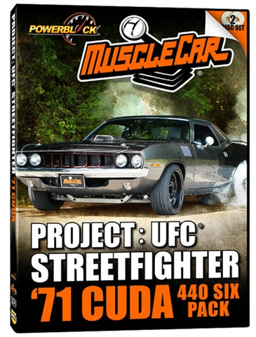 MuscleCar Project: UFC Streetfighter (2-Disc Set)