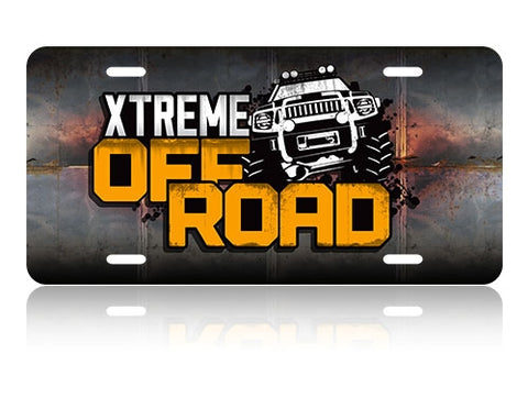 Xtreme Off Road License Plate