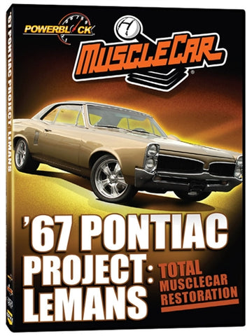 MuscleCar Project: '67 Pontiac Lemans (DVD)