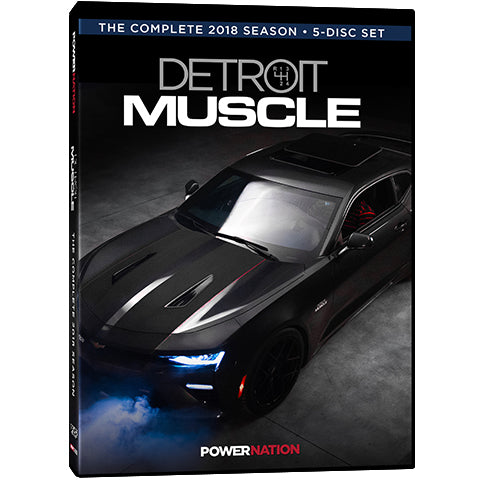Detroit Muscle DVD (2018) Complete Season 5-Disc Set