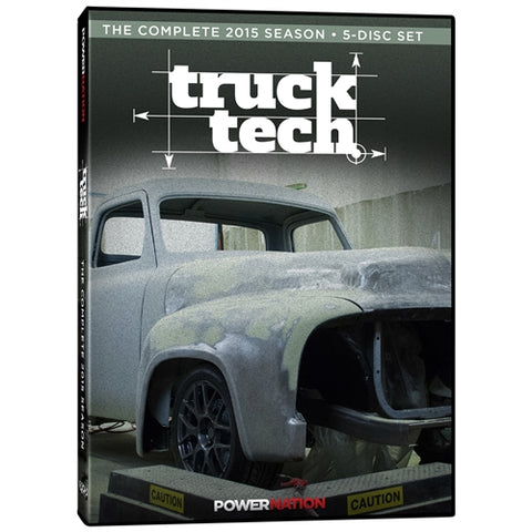 Truck Tech (2015) Complete Season 5-Disc Set