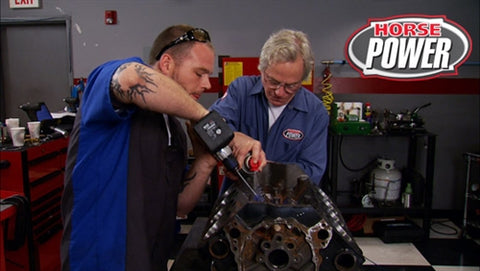 HorsePower DVD (2012) Episode 19  - At-home Engine Machining and Cylinder Head Porting
