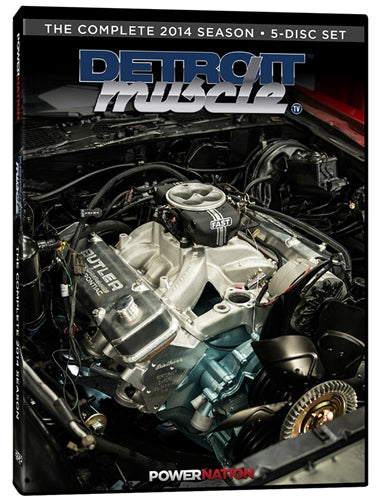 Detroit Muscle (2014) Complete Season 5-Disc Set