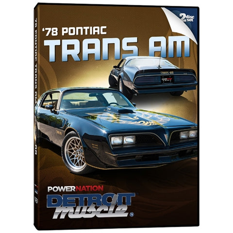Detroit Muscle Project: '78 Pontiac Trans Am (2 Disc Set)