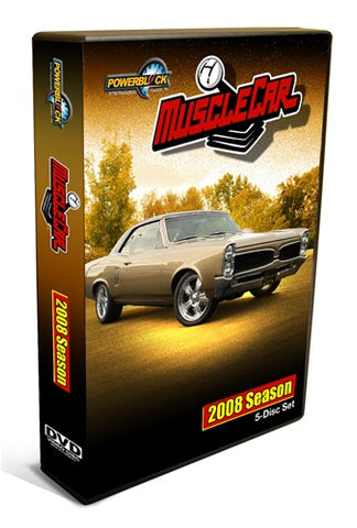 MuscleCar DVD (2008) Complete Season 5-Disc Set