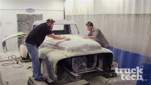 Truck Tech DVD (2016) Episode 2 - Project Basket Case Body Mockup & Paint Prep