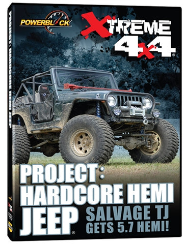 Xtreme 4x4 Project: Hardcore Hemi Jeep (DVD)