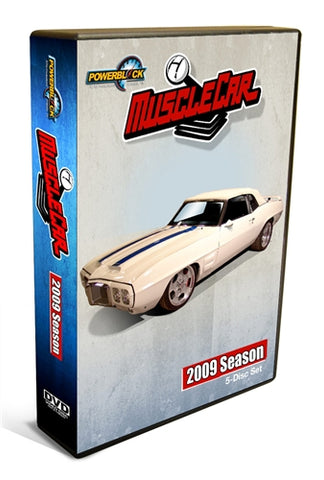 MuscleCar DVD (2009) Complete Season 5-Disc Set