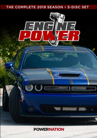 Engine Power (2019) Complete Season 5-Disc Set