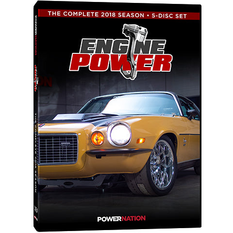 Engine Power (2018) Complete Season 5-Disc Set