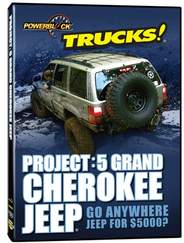 Trucks! Project: 5 Grand Cherokee (DVD)