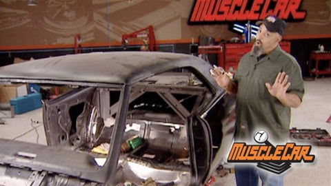 "MuscleCar DVD (2007) Episode 17 - ""Project '67 Lemans Body Fabrication & Repair"""