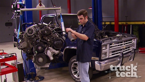 Truck Tech DVD (2015) Episode 7 - Project NighTrain - Diesel Swap