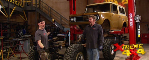 "Xtreme 4x4 DVD (2009) Episode 12 - ""'69 International Scout Part III. W.E.Rock Geo Tracker"""
