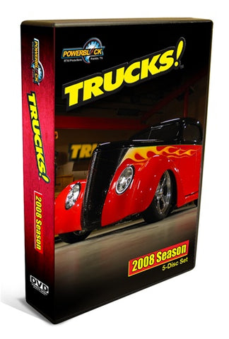 Trucks! DVD (2008) Complete Season 5-Disc Set