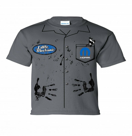 Mopar Mechanic Youth Shirt (VIN-007Y)