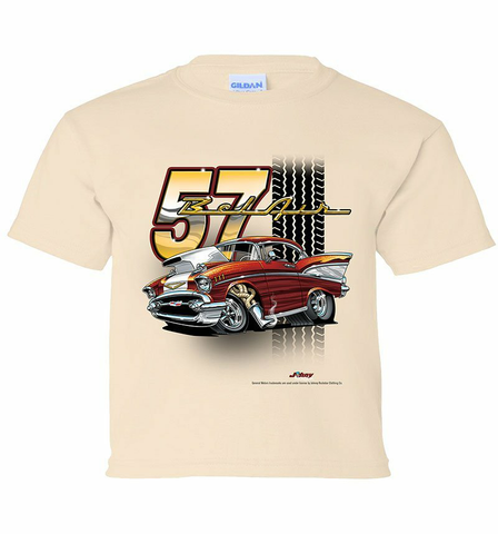57' Chevy Tooned Youth Shirt (TDC-218Y)