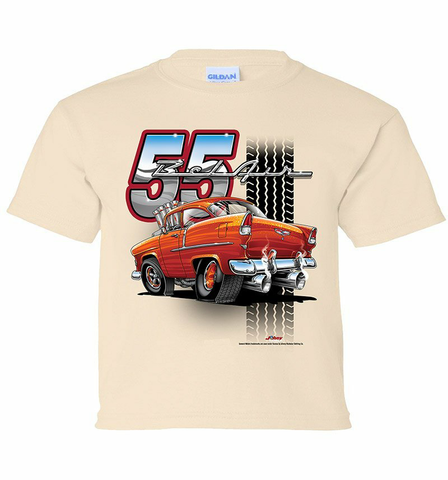 '55 Chevy Tooned Youth Shirt (TDC-219Y)