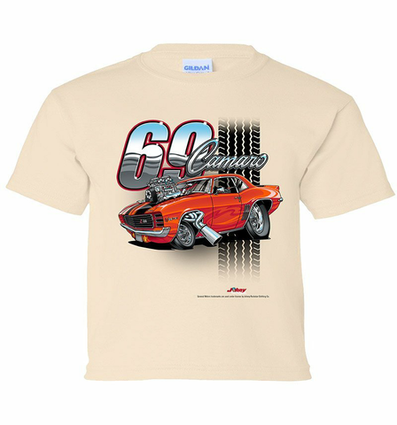 69' Camaro Tooned Youth Shirt (TDC-220Y)