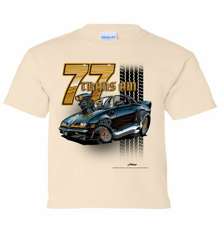77' Trans Am Tooned Youth Shirt (TDC-221Y)