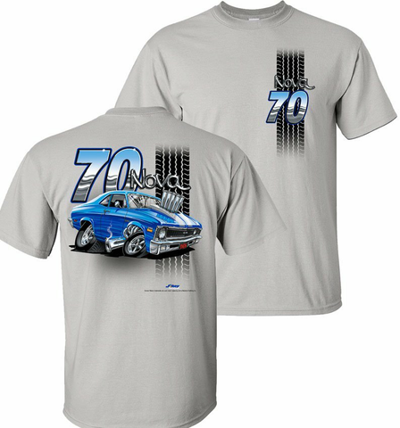'70 Chevy Nova Tooned Up Shirt (TDC-223)