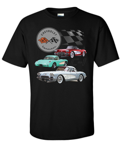 C1 '57 Corvette Shirt (TDC-240)