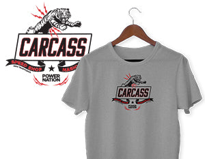 Carcass T-Shirt - Gray