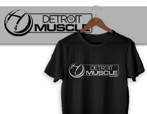Detroit Muscle Shifter T-Shirt - Black