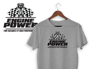 Engine Power T-Shirt - Gray