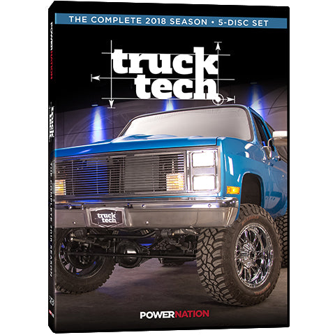 Copy of Truck Tech (2018) Complete Season 5-Disc Set