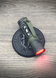 Barrel Aluminum Rail Black Multicam 6 Picatinny with Dragon Driver with Red Sec., DLC Ti Sleeve