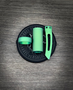 Battle Green 3D Milled Clip GEN 3 Only*** ring and sleeve set
