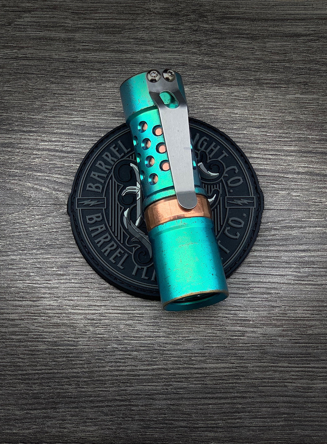 Lady Liberty Ti Barrel with Copper Ring and Sleeve