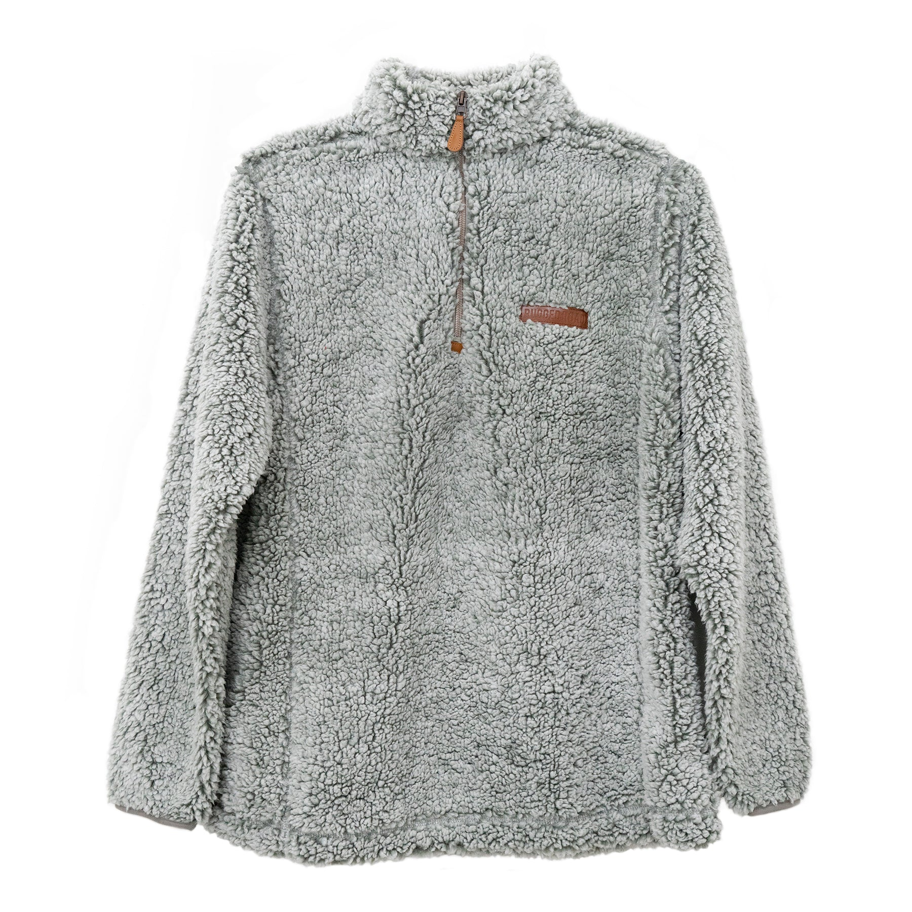 Bombogenesis Winter Pullover | White Smoke