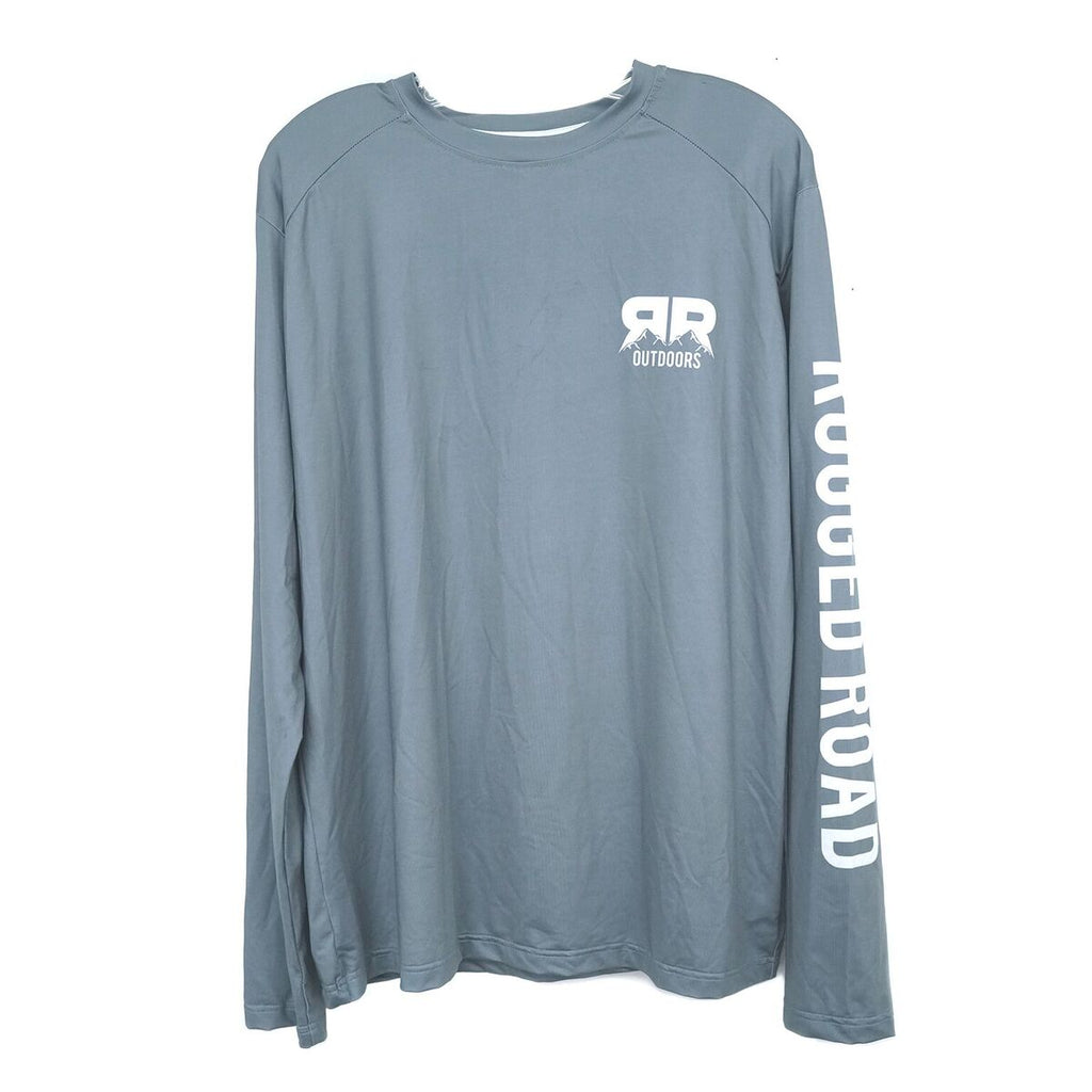 Rugged Road Long Sleeve Performance Shirt | Gunmetal