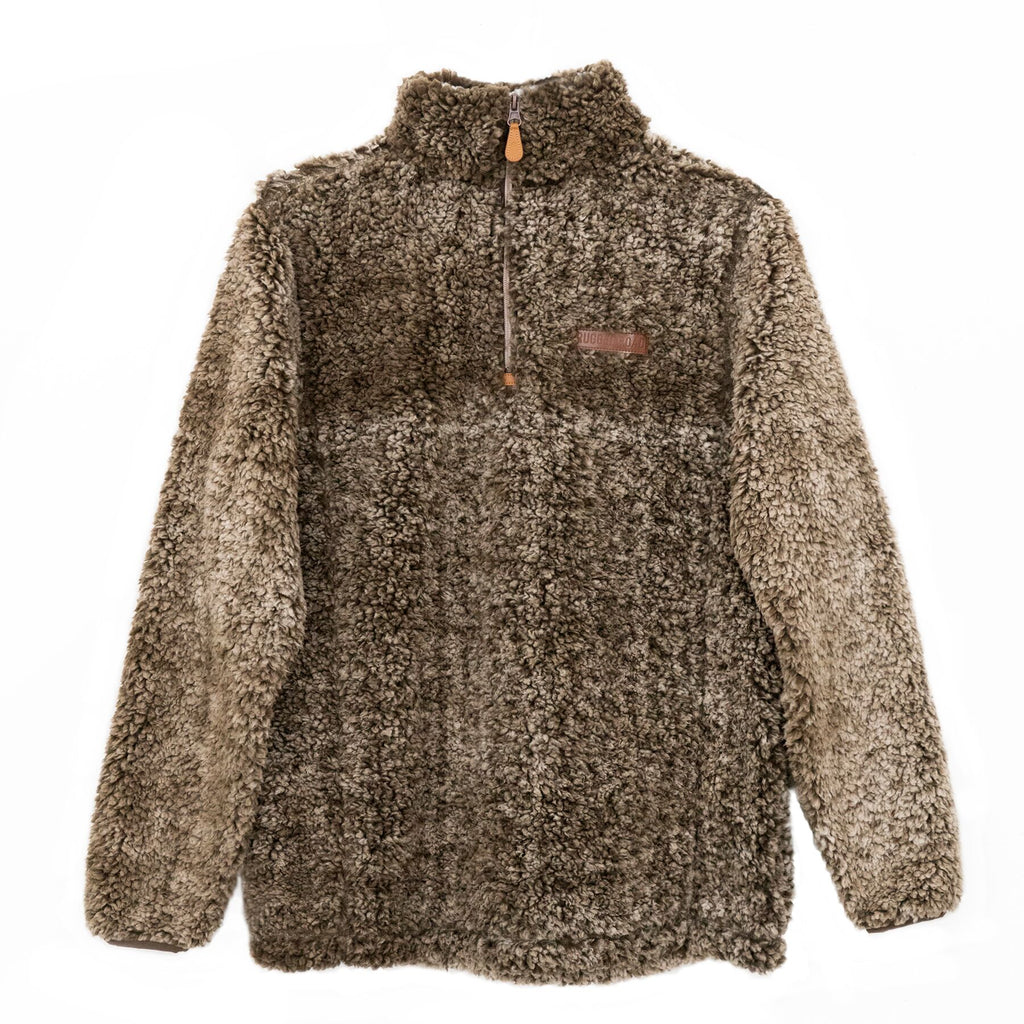 Bombogenesis Winter Pullover | Brown