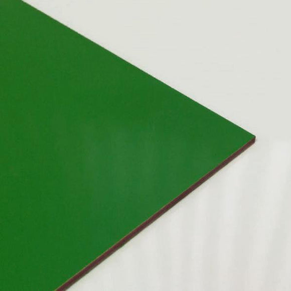 3mm Melamine on MDF - Dark Green 1000x600mm